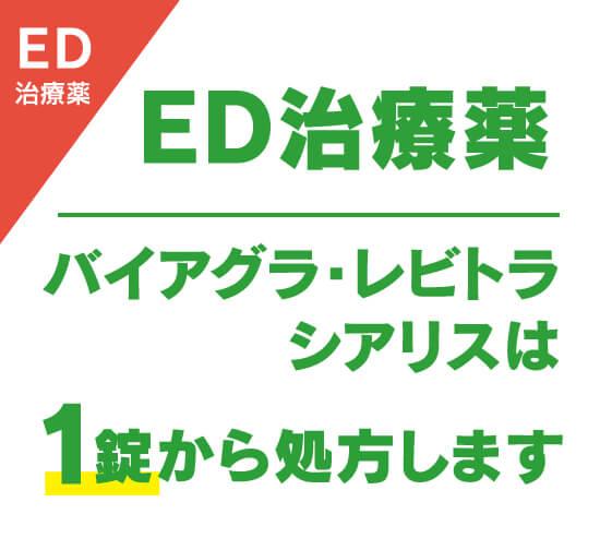 ED治療薬
